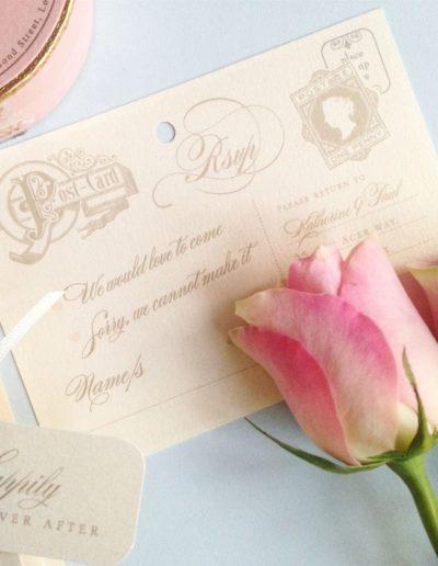 katie-sue-design-co-passport-to-paradise-romantic-wedding-invitation-vintage-postcard-1