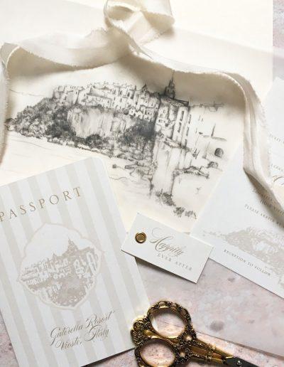katie-sue-design-co-passport-to-paradise-romantic-wedding-invitation-vintage-postcard-10