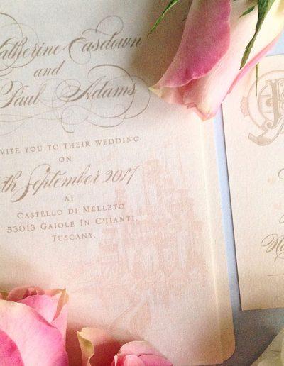 katie-sue-design-co-passport-to-paradise-romantic-wedding-invitation-vintage-postcard-7