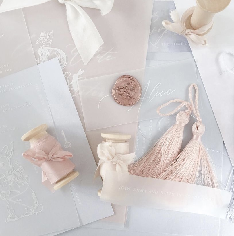 Inspiration for creating an invitation suite